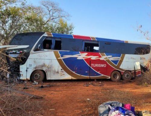 Motorista de ônibus do acidente na MGC-122 é a quinta vítima fatal
